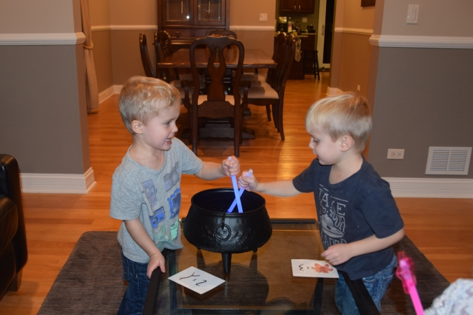 Room on the Broom inspired scavenger hunt - Stir Cauldron