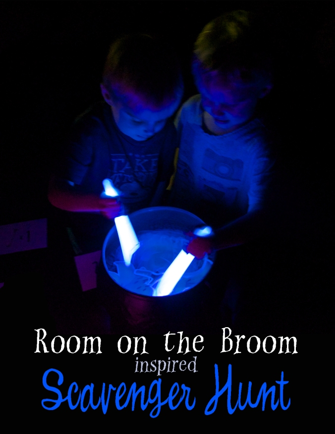 Room on the Broom Inspired Scavenger Hunt