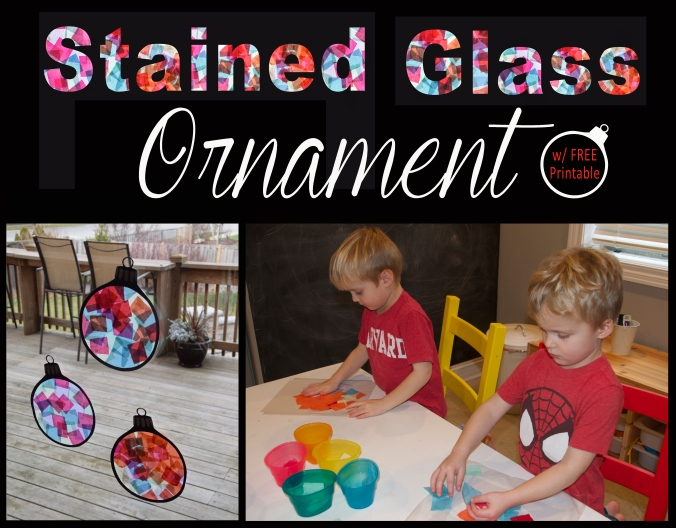 Stained Glass Ornament 2