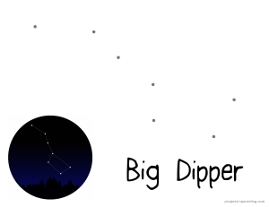 Big Dipper Worksheet