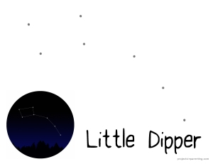 Little Dipper Worksheet