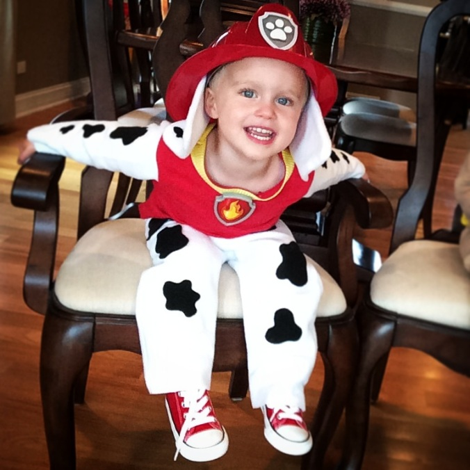 Marshall Paw Patrol Halloween Costume - projectsinparenting