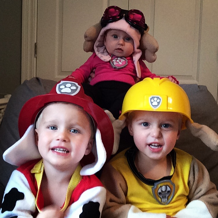 paw patrol family halloween costume projects in parenting