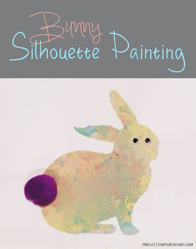 Bunny Silhouette Painting
