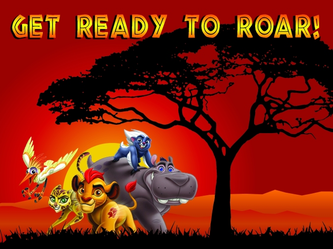 Lion Guard Birthday Party Invite - projectsinparenting