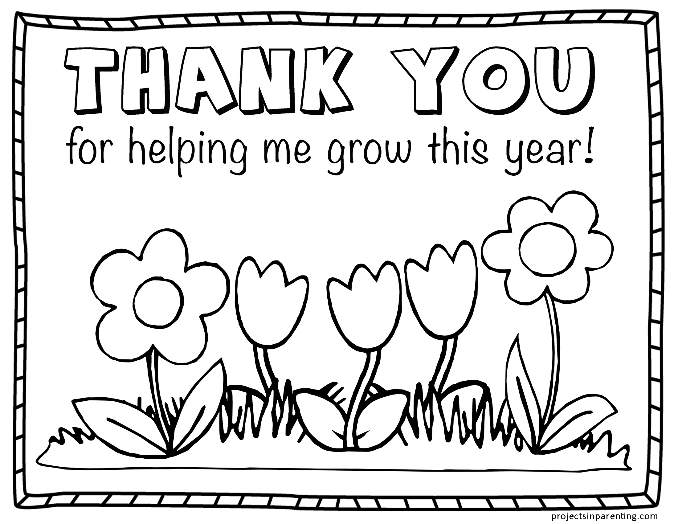 - Teacher Appreciation Coloring Page Projects In Parenting