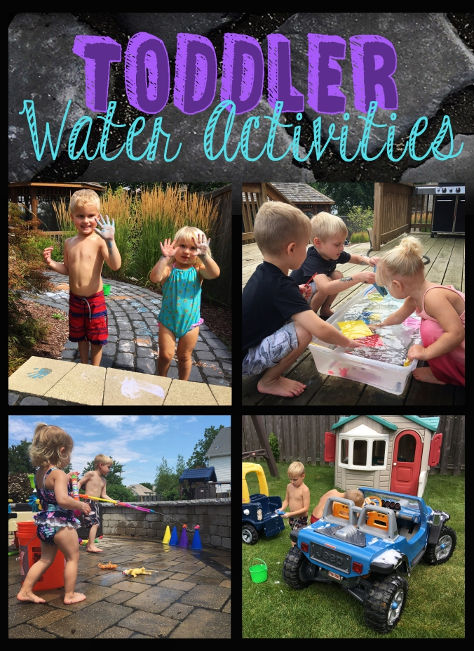 Toddler Water Activities