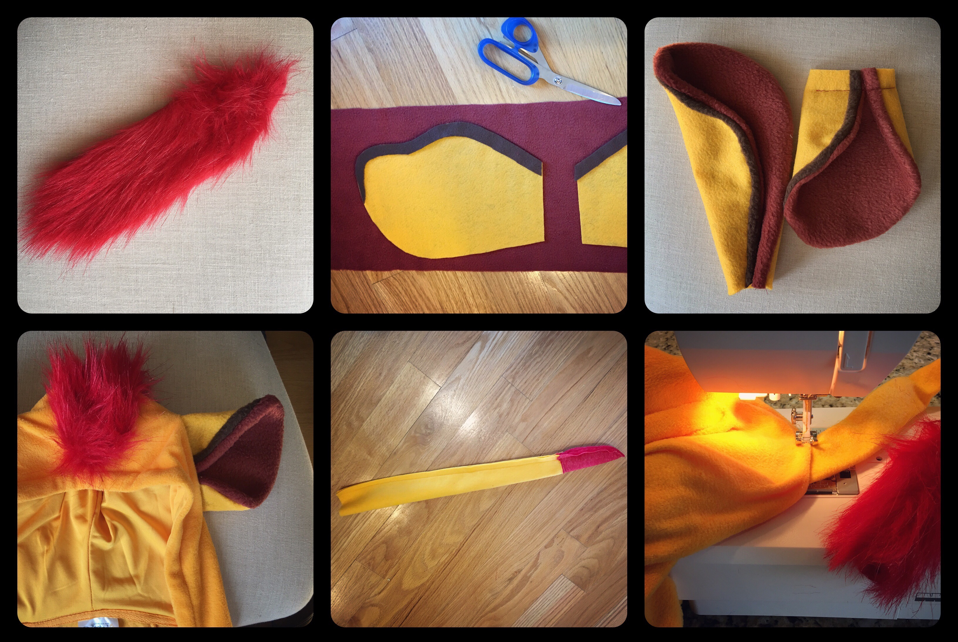 diy lion guard costumes