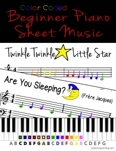 Color Coded Piano Song Pack Banner