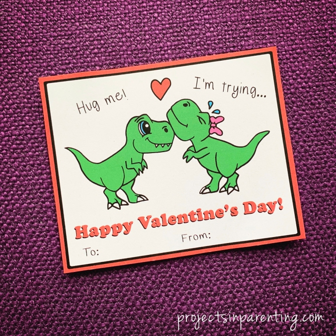 dinosaur t-rex valentine thumbnail