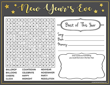 New Years Eve Printable Thumbnail